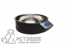 Миска с весами EYENIMAL Intelligent Pet Bowl черная
